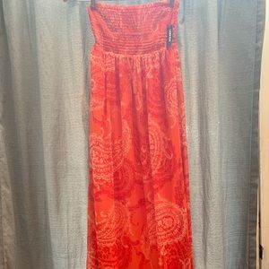 Old Navy NWT Strapless Maxi Dress XS